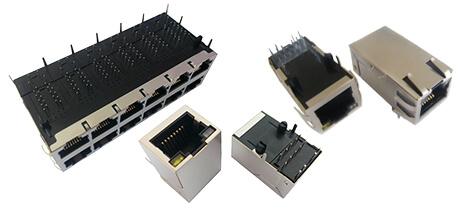 PoE RJ45 网络连接器
